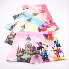 Baby Girls Cartoon Underpants Minnie Mickey 3 D Printing Boxer Shorts Briefs