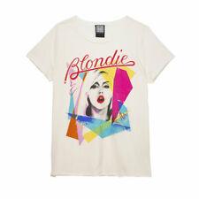Amplified Blondie Ahoy Eighties Women's Fit White T-Shirt