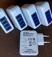 # Ladegerät 4x USB PORT 220V Netzteil Stück/€5,66 für Smartphone Handy