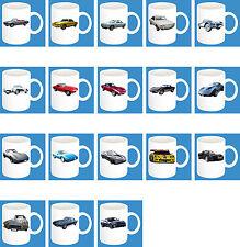 300ml Keramik Becher mit Motiv: Chevrolet Auto Modelle Kaffee Tasse Teil 1 von 2