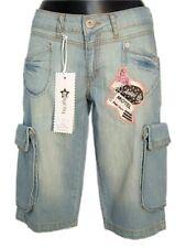 Bermuda Jeans donna ANIYE BY Alexis Tg. W28 29 31 IT 42 44 46 Shorts Cargo New