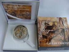 Rare 2011 Niue Proof Color Silver $1 Cave Painting Chauvet-Box-mintage 1000
