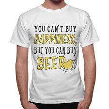 T-Shirt Uomo Non Puoi Comprare La Felicità Ma Puoi Comprare Birra
