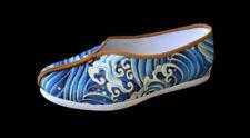 Chaussures Fait Main Kung Fu Bruce Lee Arts Martiaux Tai Chi Semelles Coton #406