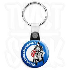 Quadrophenia Mod Target Lambretta - 25mm Keyring Button Badge, Zip Pull Option