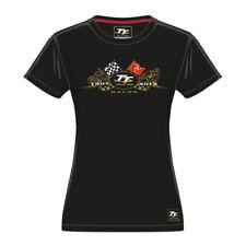 2018 OFFICIEL TT ILE DE Man or vélos pour Femme T-shirt - 18lts2