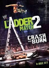 WWE: The Ladder Match 2 - Crash and Burn DVD 3 Disc Set Brand New Sealed