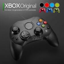 2 Lot New XBOX S-Type Wired Controller Microsoft XBOX X Original Console Black