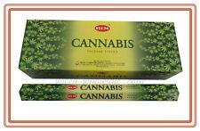 HEM Incense: Cannabis Hemp You Pick Amount: 20,40, 60, 100 or 120 Sticks FRESH !