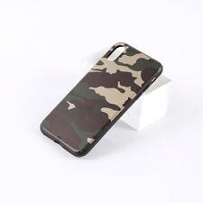 Camouflage Camo Army Tarnfarben Case Cover Hülle Bumper für Apple iPhone X XS