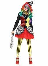 Horror Clown Kostüm Herren Killer Grusel böser Harlekin Halloween Vakuumbeutel