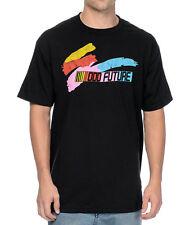 Odd Future OFWGKTA COLOR SPLASH BAR T-Shirt Black NWT 100% Authentic