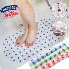 PVC Rug Anti Skid Suction Cup Grip Shower Mat Home Bathroom Non-Slip Bath Tub