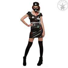Horror Nurse Gr. S L Krankenschwester Kostüm schwarz Gothic black 12282047813