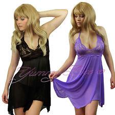 Yummy Bee Babydoll Sexy Nightwear Chemise Womens Dress Plus Size 8-26 Lingerie