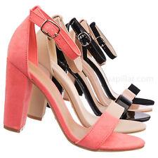 259ca178f5e Rampage04s Chunky Block Heel Dress Sandal w Ankle Strap