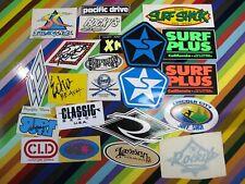 vtg 1980s Asstd. surf street sticker - Sessions Rocky's Lassen Surf shops +