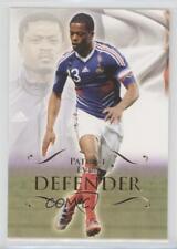 2011 Futera World Football Unique 026 Patrice Evra Manchester United Soccer Card