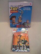 Toy Story Disney Pixar #29515 Figural Keyring With Bonus Toy Story Journal NIB!