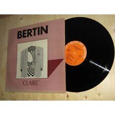 JACQUES BERTIN claire CHANSON FOLK - LE CHANT DU MONDE Lp 1972