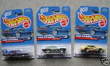 3- M.O.C. 1999 Hot Wheels Seein 3-D. FAIR shipping!