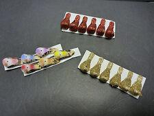 6 Miniatures Foam Birds Glitter Scrapbookin Fairy Moss Gardens Craft Card Making