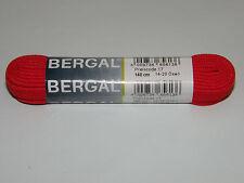 BERGAL ROT 9mm FLACH 140cm LANG SCHNÜRSENKEL SNEAKER CHUCKS SPORTSCHUHE