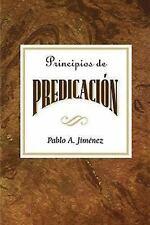 Principios de Predicacion Aeth: Principles of Preaching Spanish (Paperback or So