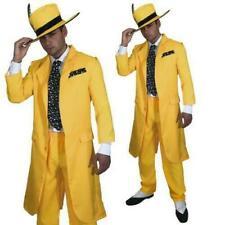 Men/'s années 1920 années 30 Blanc GANGSTER Déguisement Cravate Al Capone Mafia Mob Stag thème