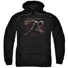 Mortal Kombat X Scorpion Lunge Licensed Adult Pullover Hoodie
