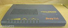Draytek Vigor 2600 ADSL Router Broadband Router 10/100 Ethernet Switch RJ11