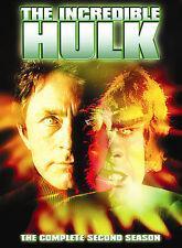 THE INCREDIBLE HULK SEASON 2 New Sealed 5 DVD Set