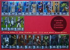 Force Attax Serie 2 Star Wars Star-Karten aus 193 - 212 aussuchen