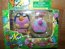 Koo Koo Zoo KooKoo Flocked Birds 2 Pack Bird of Paradise & Bug Eyed Fezziwig New