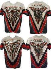 New Atlanta Falcons Mens Sizes M-L-XL-2XL Tie Dye 2-Sided Premium Shirt
