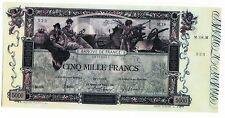 FRANCIA Billete 5000 Francos 1918 FACSÍMIL DE FLAMENG COPIA