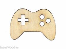 Controller Unfinished Wood Shape Cut Out C8723 Laser Crafts Lindahl Woodcrafts