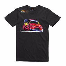 T-shirt Ford Falcon Shell Race car Bathurst Johnson 17,  AS Colour shirt.