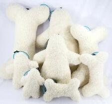 Bone Man Dog Toy Brand 2-Squeaker Fleece Dog Toys Puppy Puppies B55