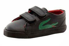Lacoste Toddler Boy's Marcel CLC Fashion Black Sneakers Shoes