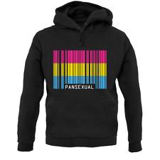 Lgbt Barcode Flags Pan Sexual Unisex Hoodie - Pride - Gay - Bi - Lesbian - Trans