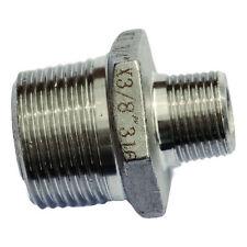 HEXAGON riducendo Capezzolo - 316 in acciaio inox raccordo/adattatore