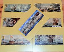 The Battle of TRAFALGAR Royal Mail Postcards