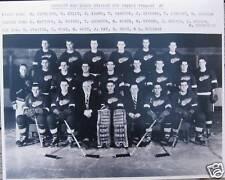 1954/55 Detroit Red Wings Team photo 8x10 Stanley Cup Champs Gordie Howe