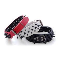 Anti-biting Adjustable PU Leather Metal D-ring Pet Dog Collar Spike Spare Part