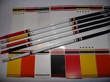 12 Stck. Bearpaw Pfeilcresting Cresting Arrow Wraps für Carbon Alu und Holz