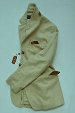 Loro Piana Men's Cotton/Wool/Cashmere Herringbone Rain System Jacket Sport Coat