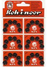 ottone bottoni automatici, 12.4mm Nero, laccato ref 11-11000.4.bk