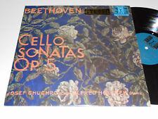BEETHOVEN CELLO SONATAS Op 5 M- Chuchro Holecek Piano Supraphon Czech SUA 10534