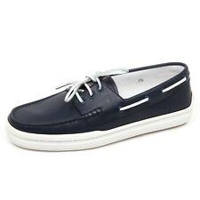 E3664 mocassino barca uomo blu TOD'S scarpe loafer shoe man